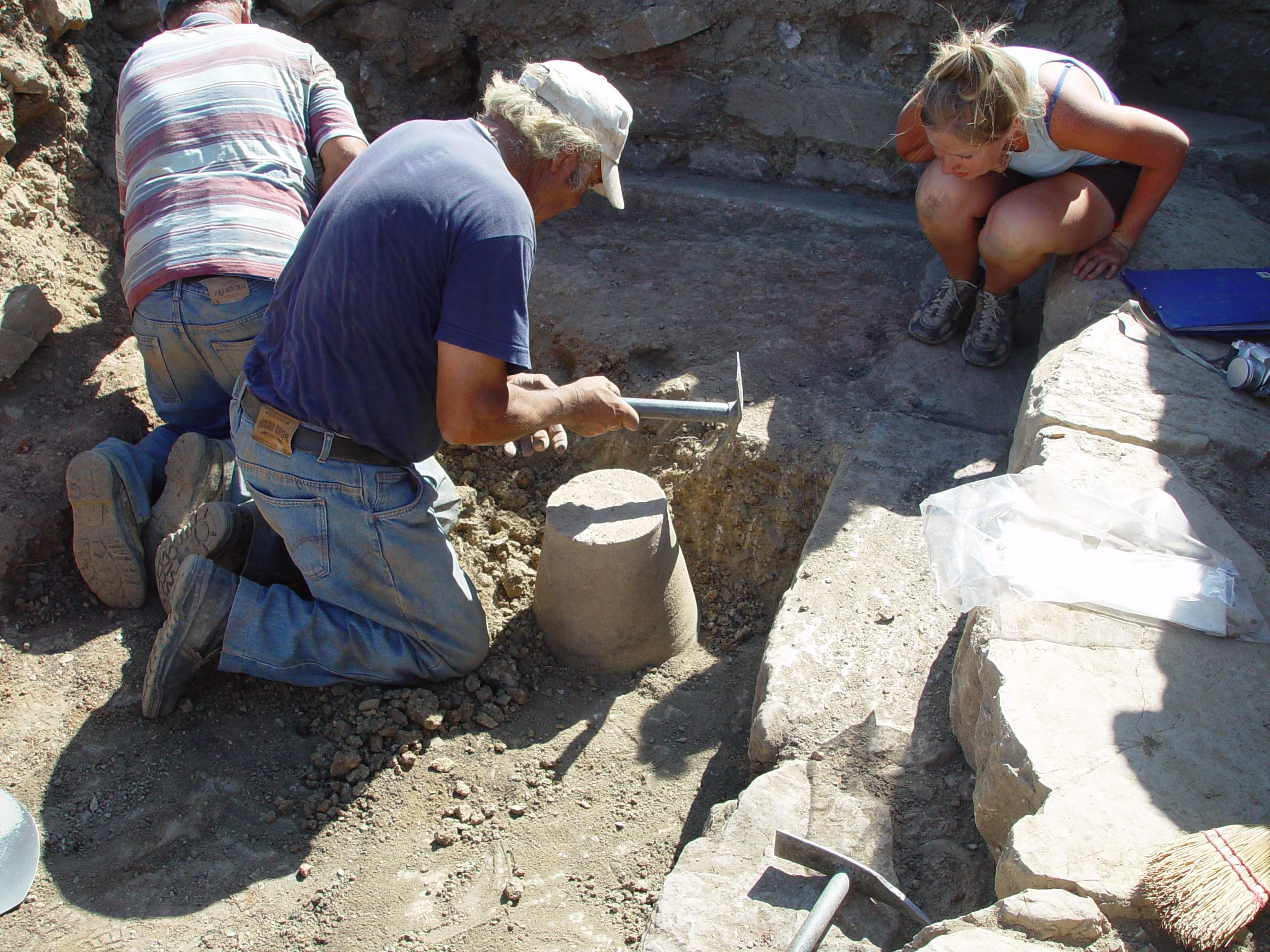 09Jul04 D511 excavation 1