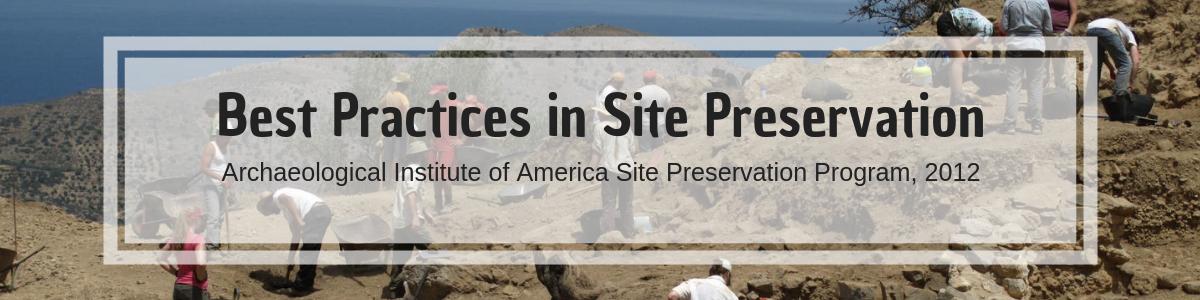 Site Conservation