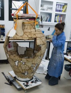 Pithos conservation (05-0168) 2011 (Azoria Project 2011).